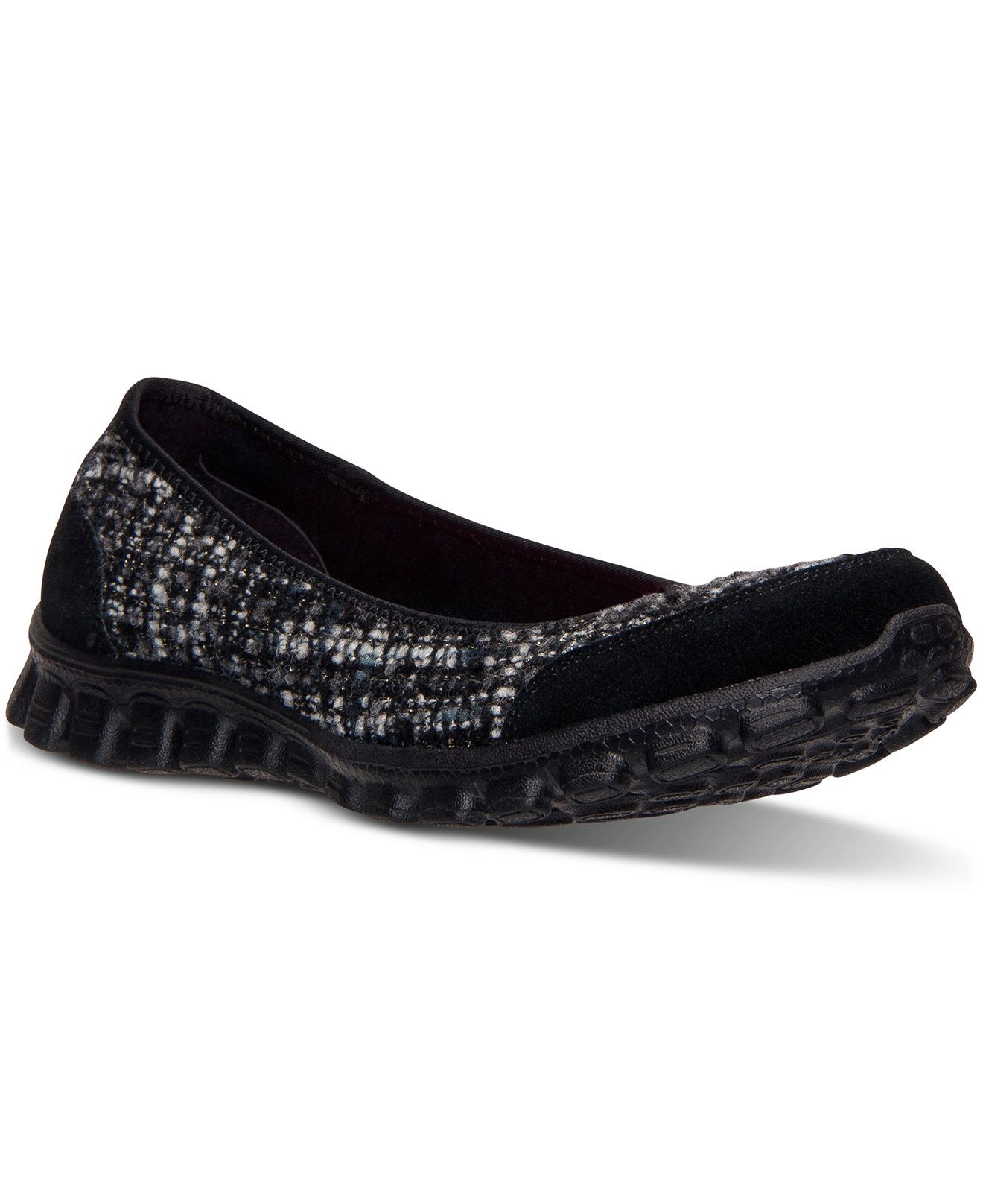 8d91942689b Skechers Women s Yours Truly Ballet Flats from Finish Line - Finish Line  Athletic Shoes - Shoes - Macy s