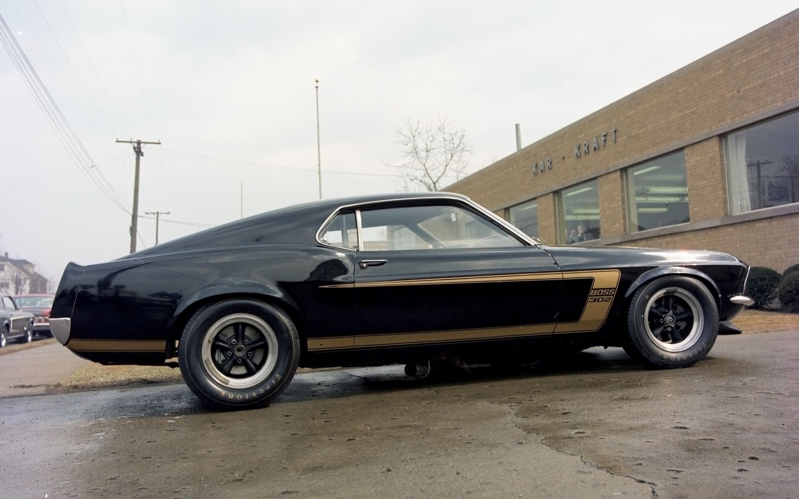 1969 Ford Mustang Boss 302 Black And Gold Ford Mustang Boss 302