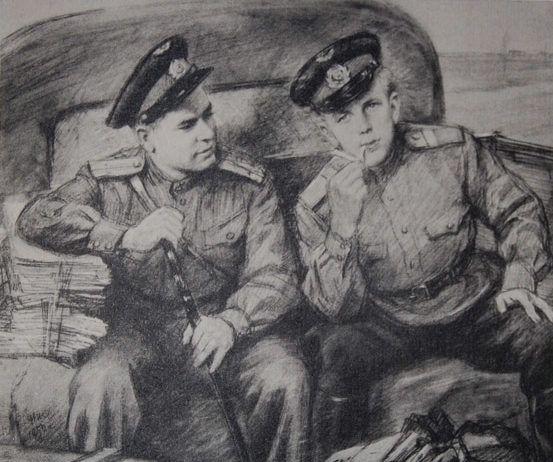 Картинки по запросу Николай Жуков Военные рисунки
