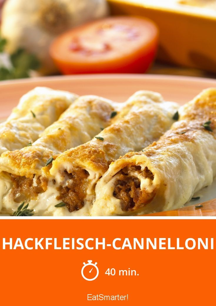 Photo of Ground beef cannelloni