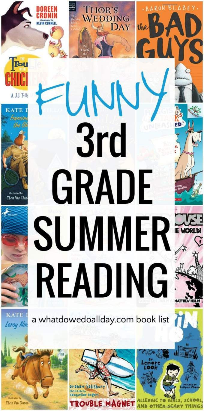 Funny 3rd Grade Books That Kids Love 3rd Grade Books Third Grade Books Grade Book [ 1373 x 680 Pixel ]