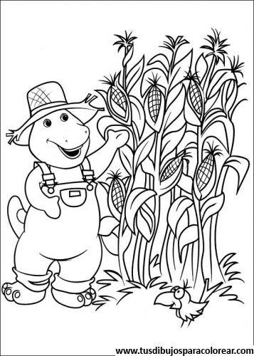 Barney y sus amigos para colorear | Dibujos para colorear ...