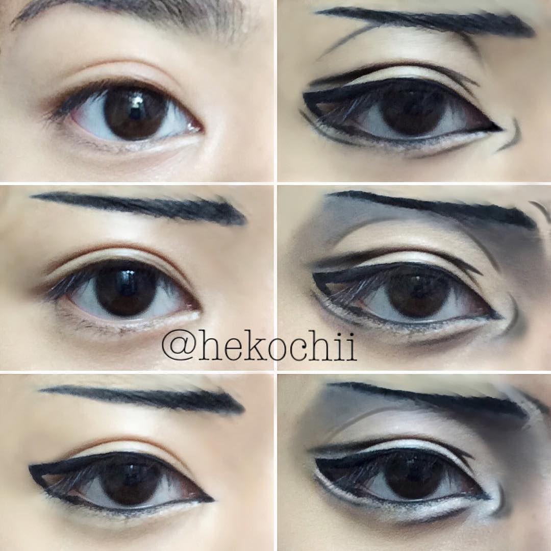 Levi Ackerman eye tutorial! Doing this was really