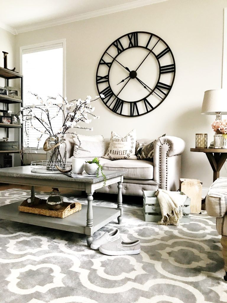 Pin On Home Sweet Home Wall clocks living room
