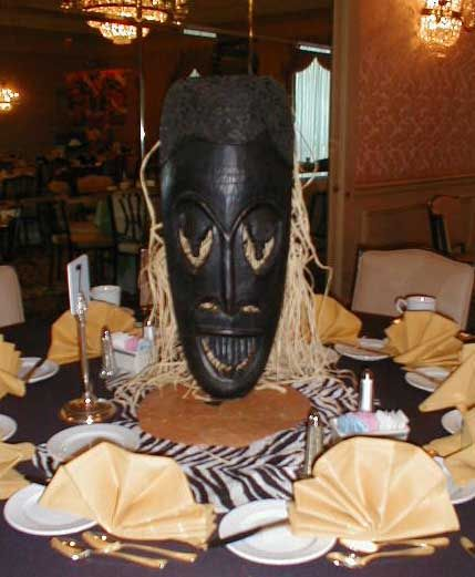 African Weddings Centerpieces