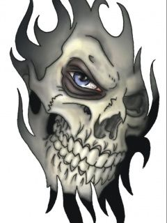 Download Free Wallpaper Skull Tattoo For Mobile Phone Evil Skull Tattoo Tribal Skull Skull Tattoo Design