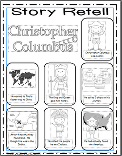 Week 2 Christopher Columbus Language History Story Retelling Have G Write A Kindergarten Social Studies Teaching Social Studies Homeschool Social Studies