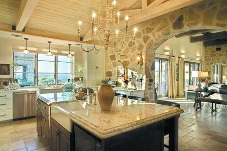 Wide Open Country Kitchen