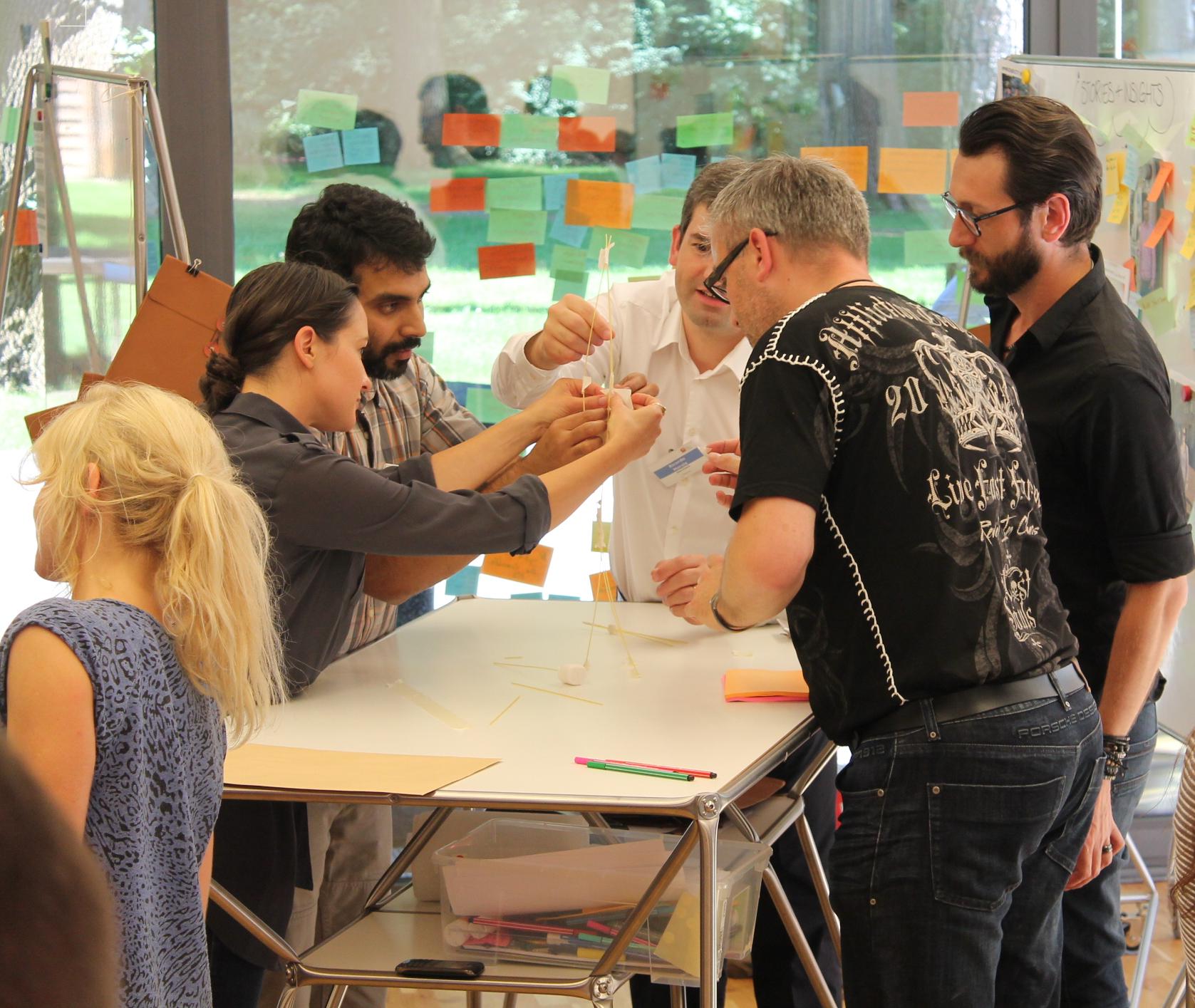 Hpi i potsdam i school of design thinking i dt line i for Design thinking tisch
