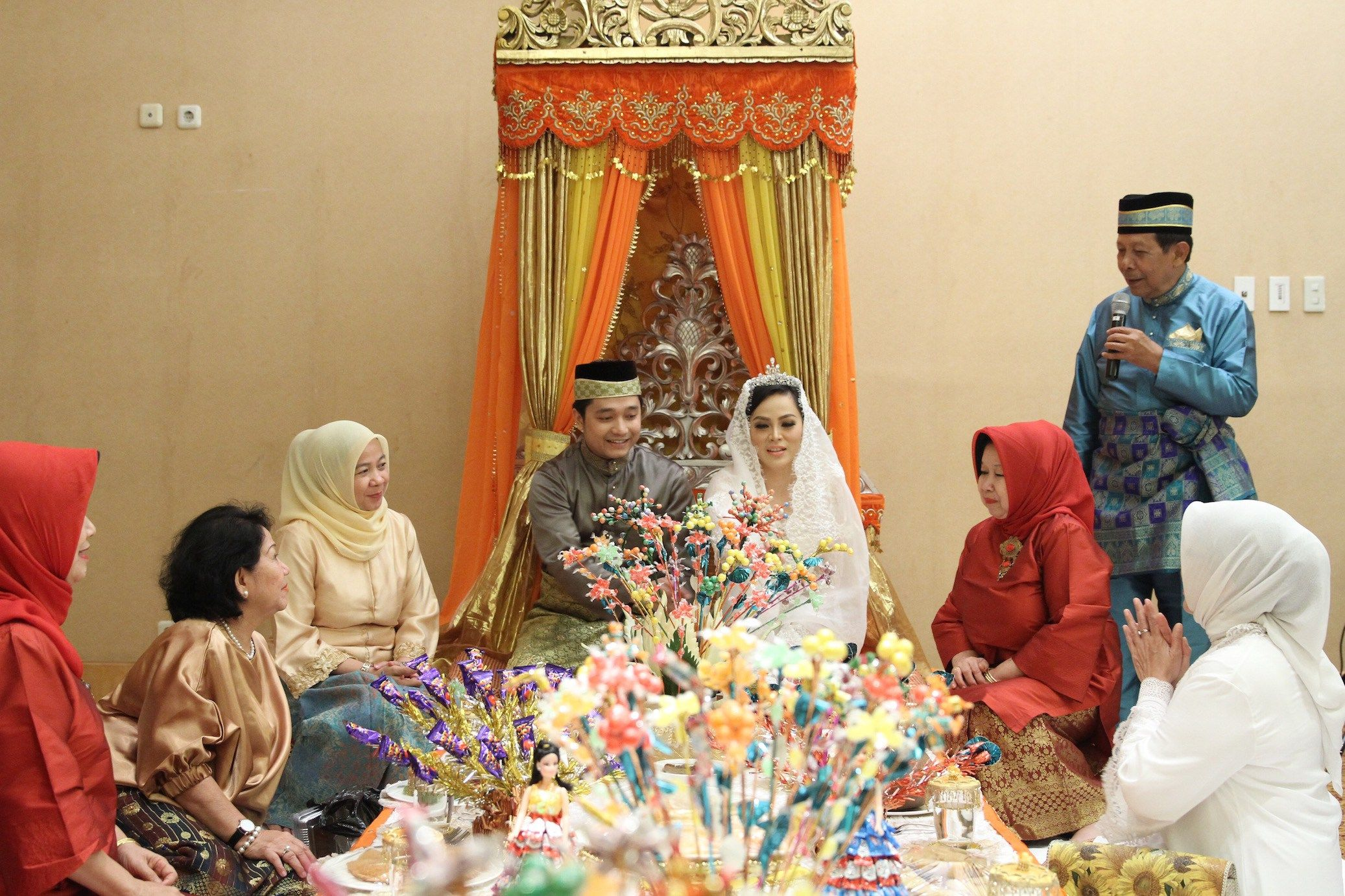 Pernikahan Adat Melayu Deli Nina dan Zakie  The Wedding  The