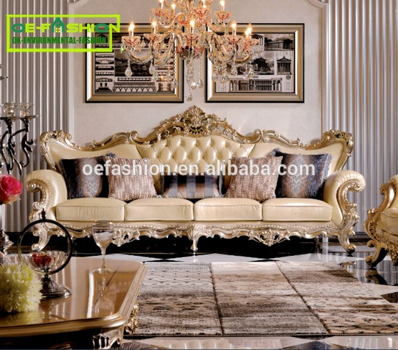 Luxury Living Room Carved Sofa Furniture Italian Furniture Carved Classic Sofa View Classic Italian Antique Living Room Furniture Oe Fashion Product Details Luxury Living Room Carved Sofa Classic Sofa
