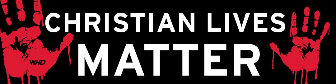 Christian lives matter magnetic or adhesive bumper sticker