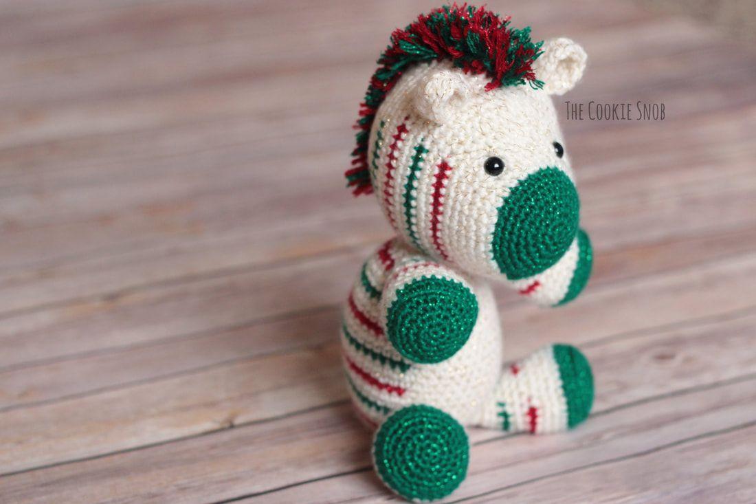 Christmas Zebra Free Crochet Pattern | CROCHET | Pinterest