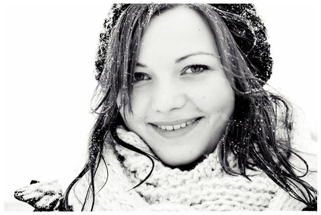 lovely photo of an even lovelier girl