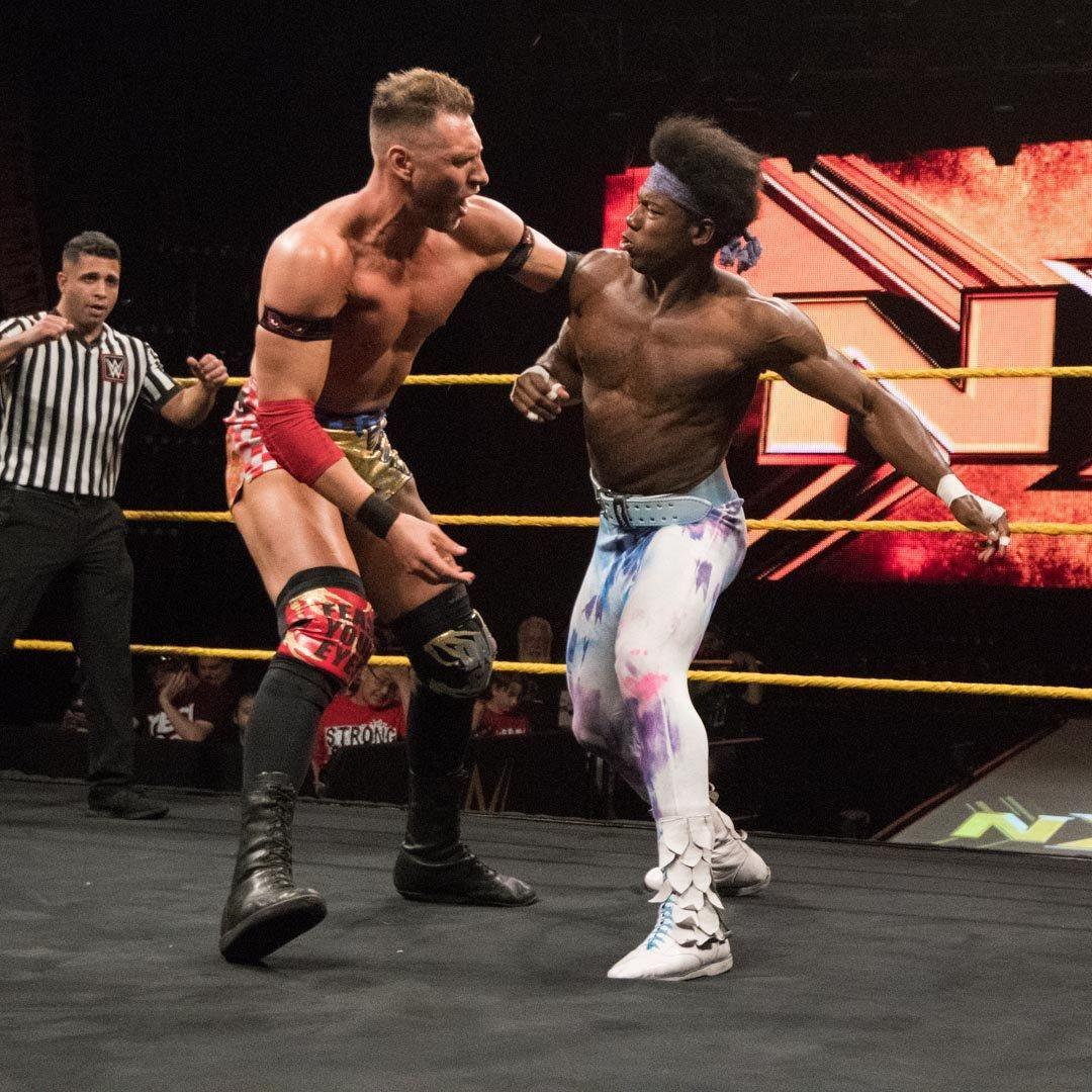 Wwe Nxt Results July 4 2018 Johnny Gargano Turns Vicious In Showdown With Ec3 Wwe Johnny Santana Garrett