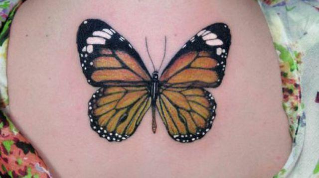 tatouage-papillon-diego-nicolas_5494306.jpg (640×358) | Tatouage papillon monarque, Tatouage ...