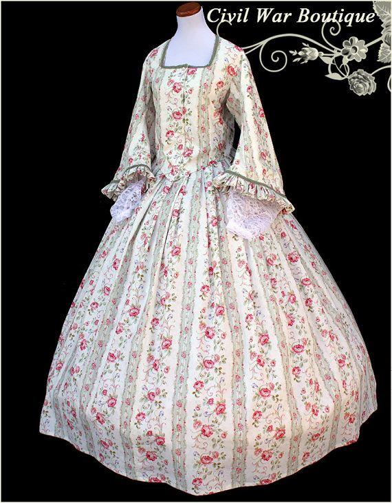 Für Ihre Betrachtung ist das wunderschöne Bürgerkrieg Tee Kleid ...