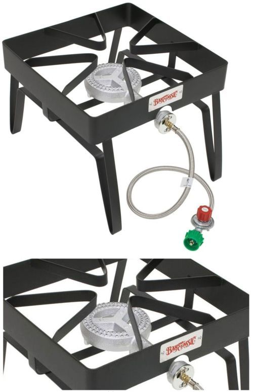 Camping Stoves 181386 Bayou Clic Outdoor Stove 55 000 Btu Propane Gas Single Burner Portable Steel