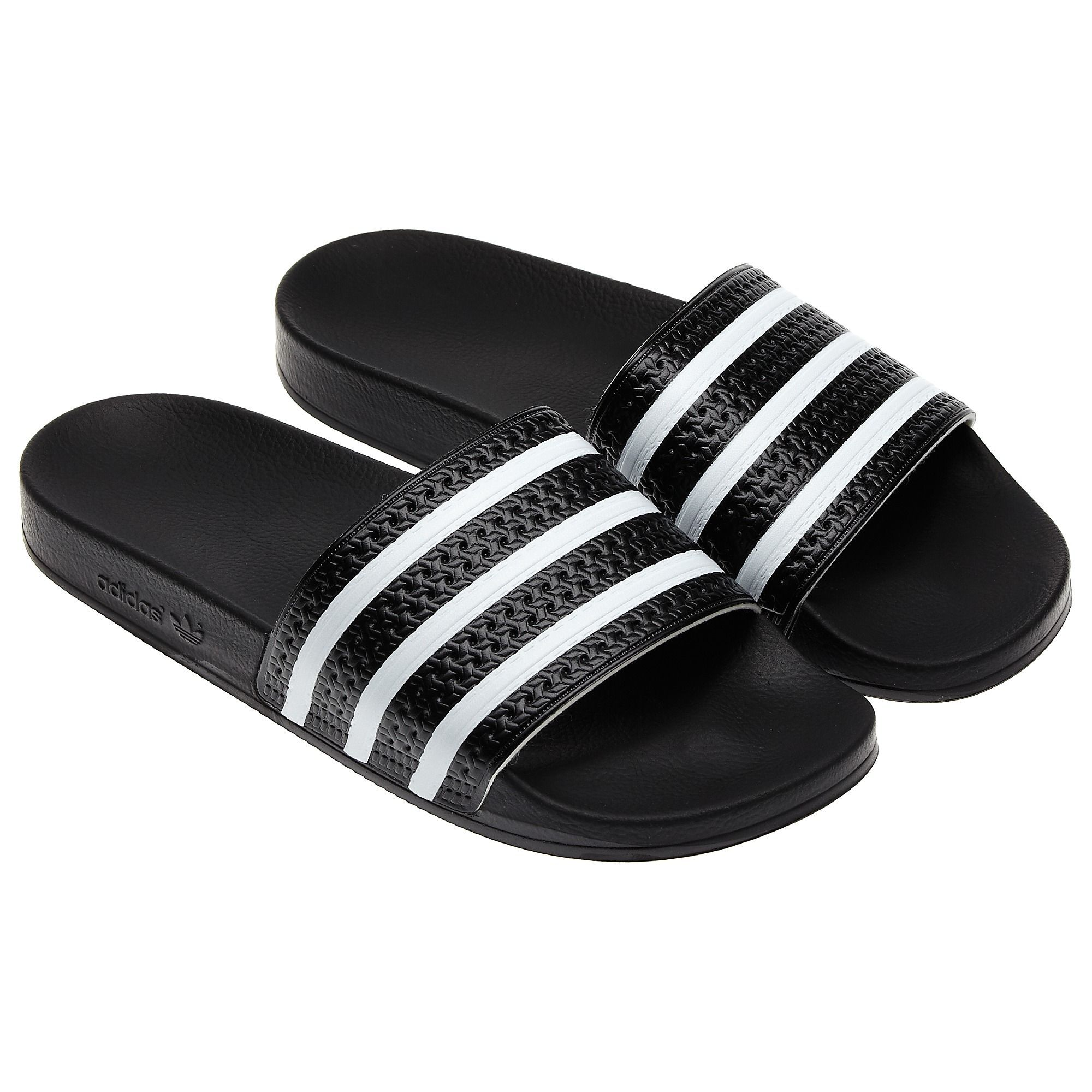 1b49eca9bc5 Adilette Slides Black 4 Mens