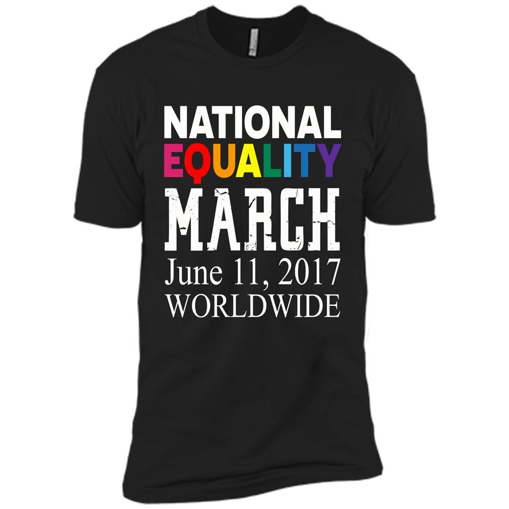 National Equality March T-shirt for Lgbt