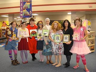 book character day, teacher dress up ideas - good for halloween too