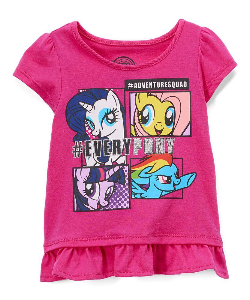 57db07a1b Girls My Little Pony Shirt w/ Glitter Accents New with Tags Size 2T Kids  BNWT #MyLittlePony #DressyEverydayHoliday