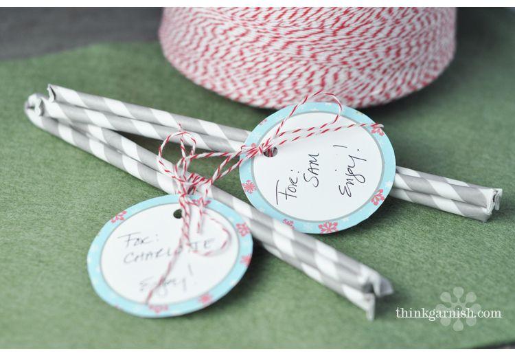 Make your own Pixie Sticks...I Love....