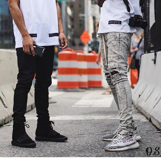 42ebaa27a3a68 Instagram media by outfitsociety - Which Adidas Yeezy Boost is better  750  👈 or 👉