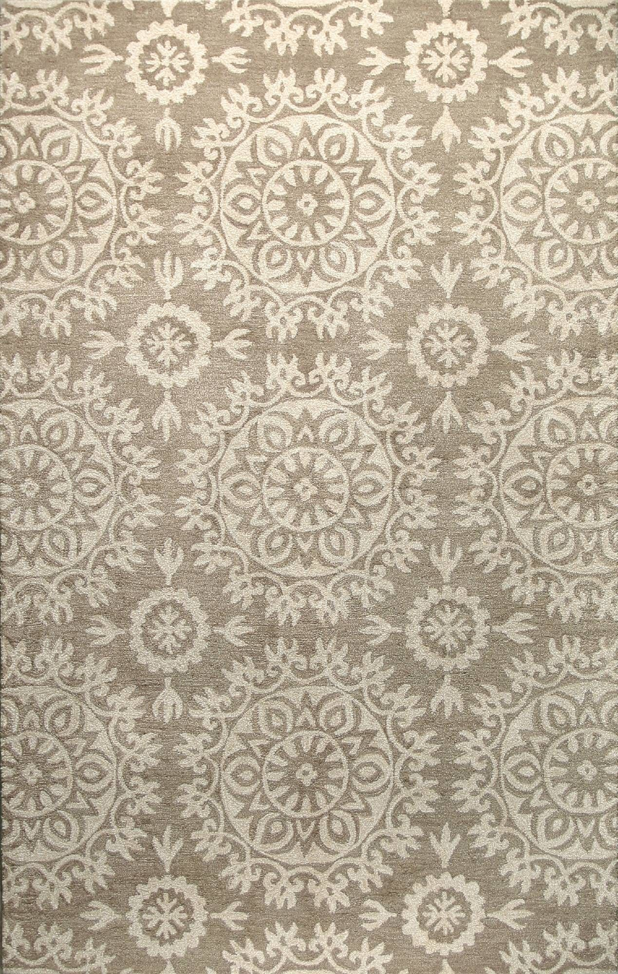 Bashian Rugs Norwalk Taupe Floral Area Rug Amp Reviews