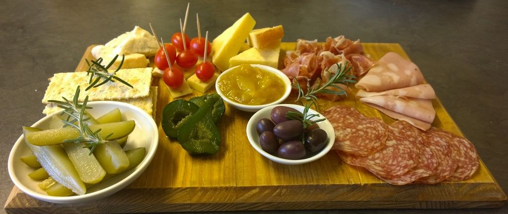Platter for two at Vondeling