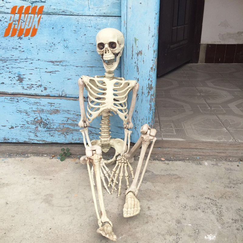 36 Inch 90cm Hanging Plastic Skeleton Halloween Decorations Holiday - halloween decorations skeletons
