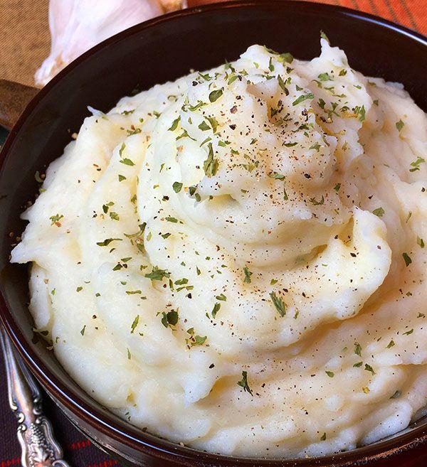Instant Pot Mashed Potatoes - RecipeTeacher #instantpotmashedpotatoes
