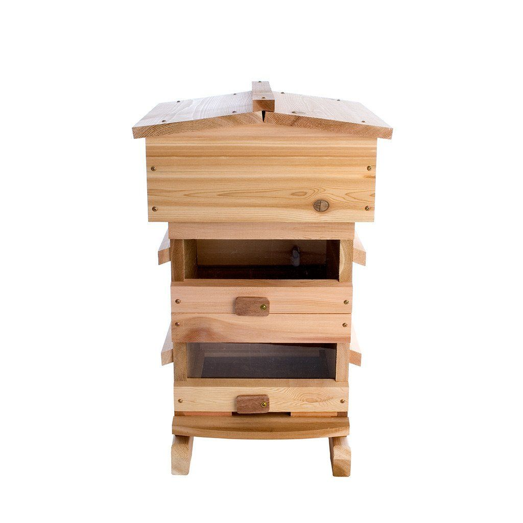 Handcrafted Warre hive built from Cedar or Sugar Pine in ...