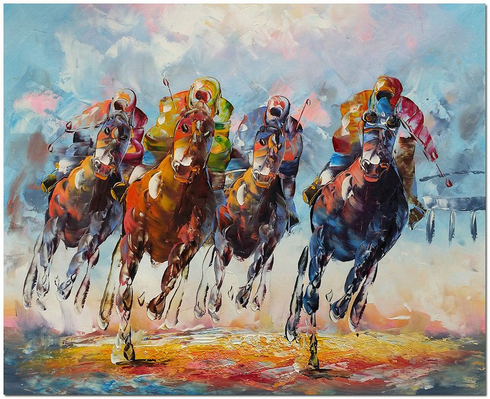 Kentucky Derby Signed Hand Painted