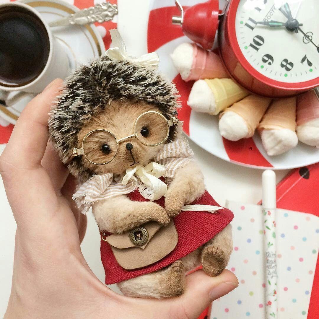 Beautiful ideas Handmade | VK | Plush animals, Animals ...