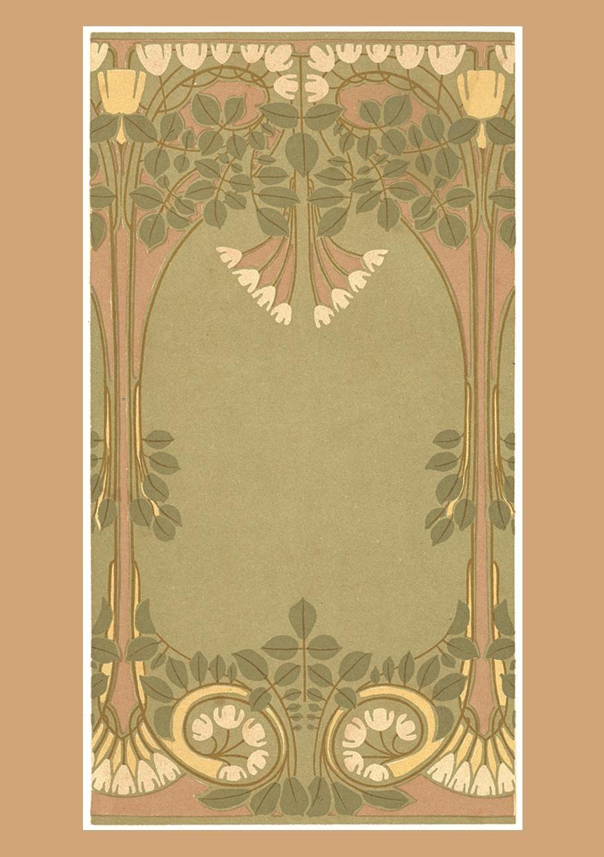Is It Art Nouveau or Art Deco? | Art nouveau design ...