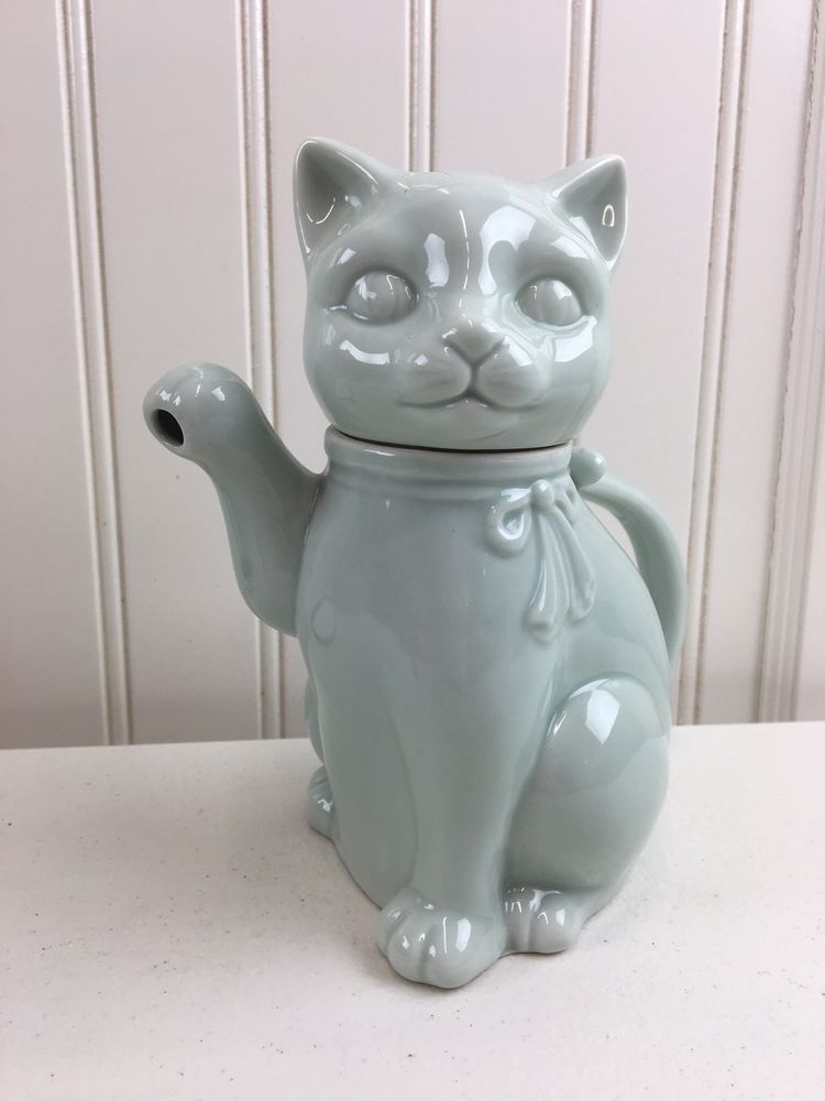 Cat Pitcher Fine Porcelain Takahashi San Francisco Vintage