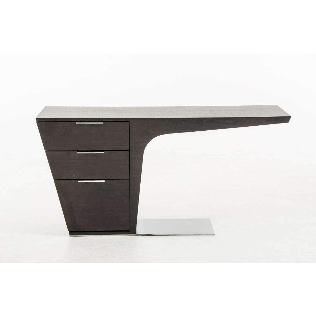 Modrest Bismarck Modern Wenge Office Desk Office Desk Desk Cheap Office Desk