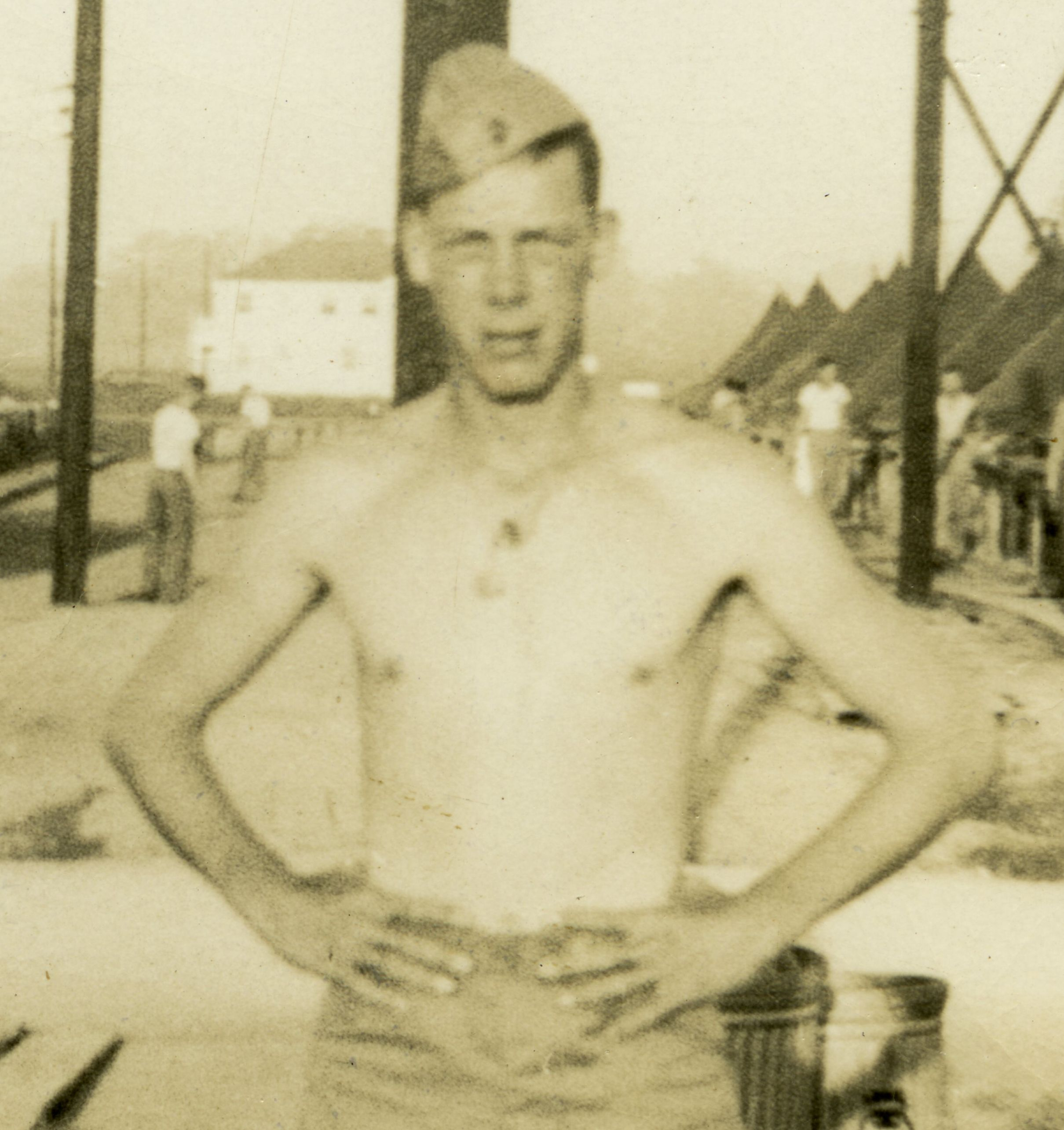 Lee Marvin Wartime Photo of Lee Marvin American Actor and Grade A Badass