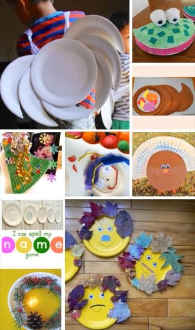 10 reasons to love paper plates even more. So easy and fun.