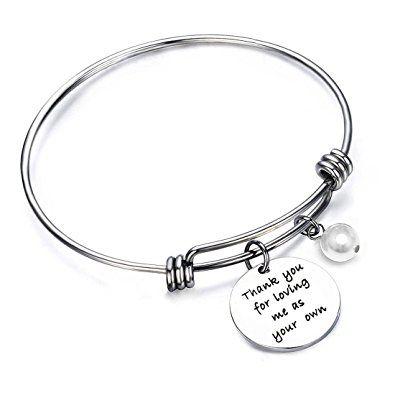 ENSIANTH Initial Bracelet Rose Gold Letter Bracelet Mothday's Day Gift Initial Charm Bracelets Friendship Bracelet For Birthday MmiL4gi