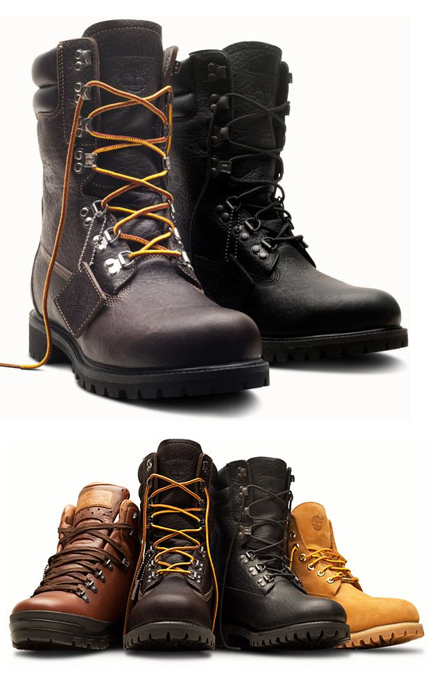 cb4360554fa Timberland 40th Anniversary LTD Boot Collection at werd.com ...
