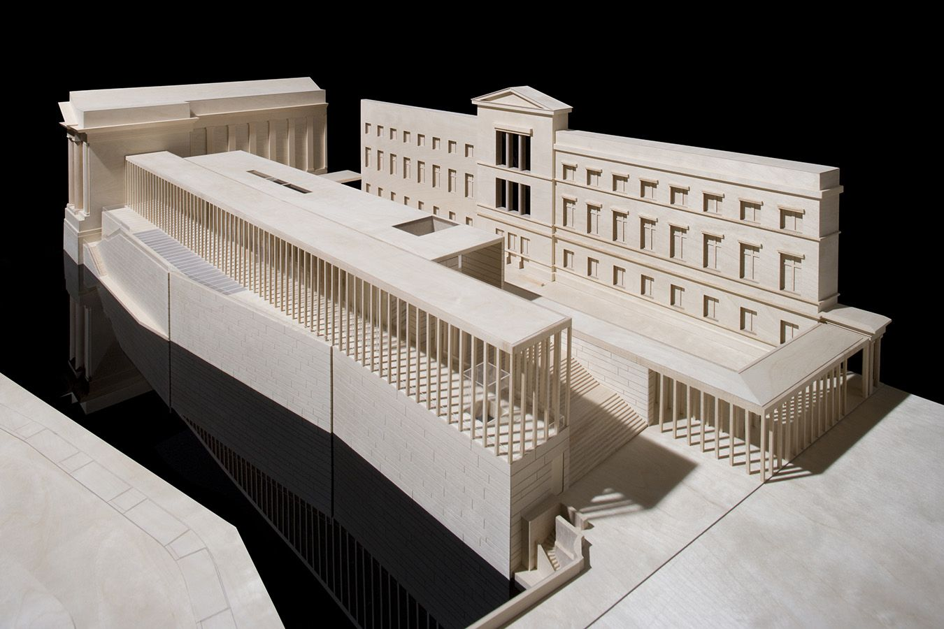 David Chipperfield Architects Founded In 1984 Has Four Offices In London Berlin Milan And Shangh David Chipperfield Architects Architecture Model Architect