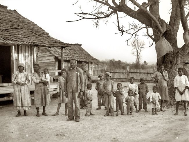 Descendants Of Former Slaves Of The Pettway Plantation. They Are