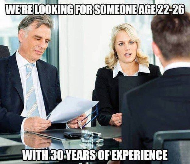 19 Pictures That Sum Up How Absolutely Ridiculous It Is Finding A Job Funny Pictures Hilarious Work Humor