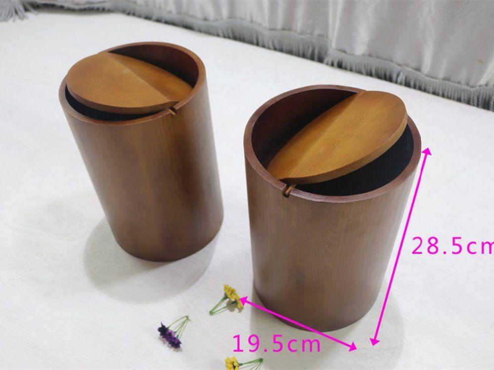 Beroemd Hout box craft, outdoor houten prullenbak, hout box custom logo DB75