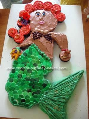 Coolest Mermaid Birthday Cake Design Mermaid birthday cakes