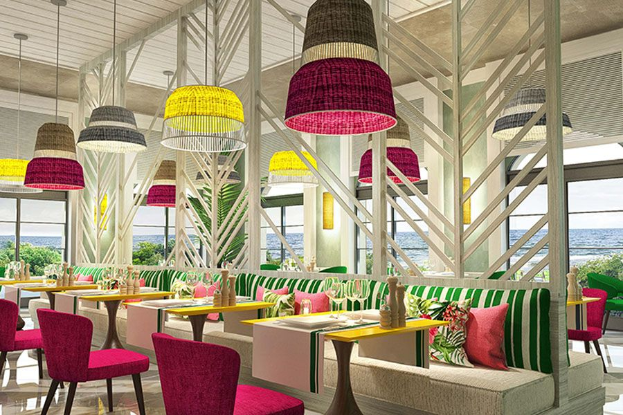 A Casual Dining Concept With Mesmerising Beach Views People S Snack Bar And Restaurant Is Perfect For Enjoying Refreshmen Interior Design Casual Dining Design
