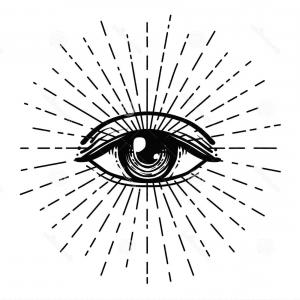 Photostock Vector Blackwork Tattoo Flash Eye Of Providence Maconnique Symbole Tous Les Voir A All Seeing Eye Tattoo Evil Eye Tattoo Eye Tattoo