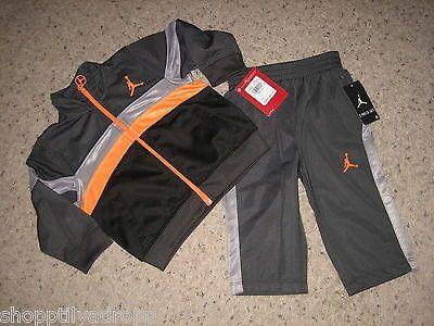 e8d9c36f934e53 Nike Jordan Baby Boys 2 Pc. Track Set Jacket Pants 12 Months